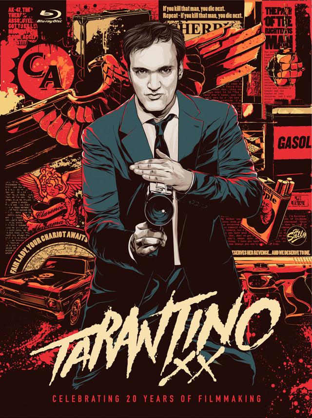 Tarantino XX: 8-Film Collection, 20 Years of Quentin Tarantino Films