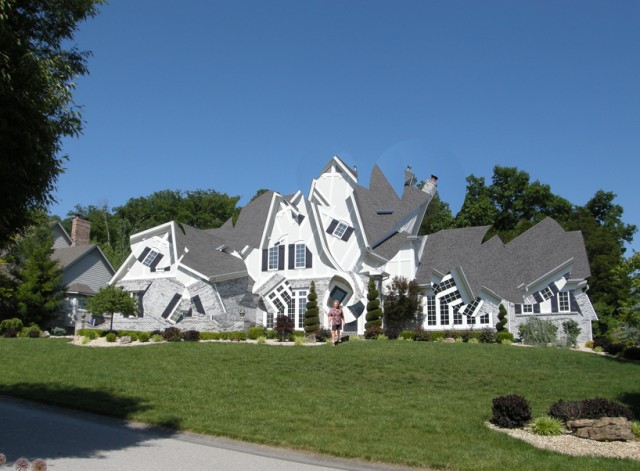 Deconstructing the Houses by Michael Jantzen