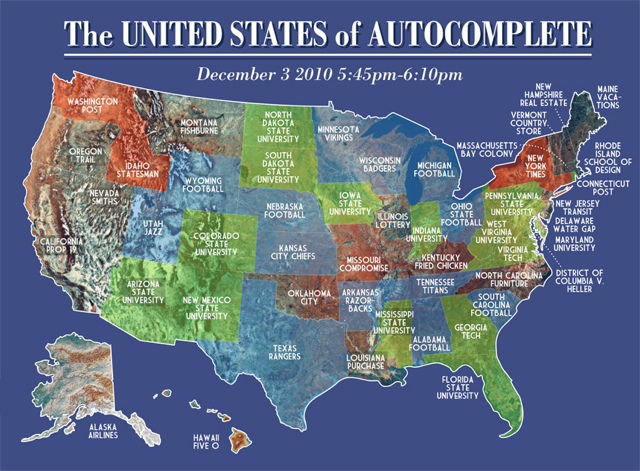 The United States of Autocomplete
