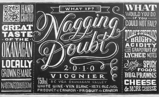 Typographic Chalk Art by Dana Tanamachi
