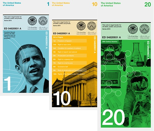 US Bank Note Redesign Concept