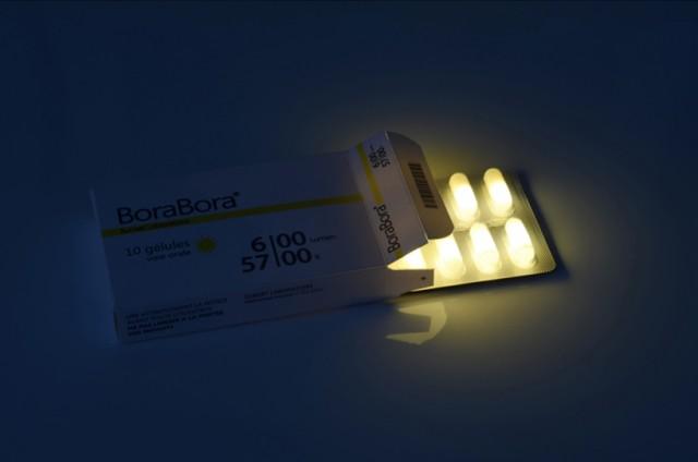 BoraBora, sunlight in pill form by Vaulot&Dyevre