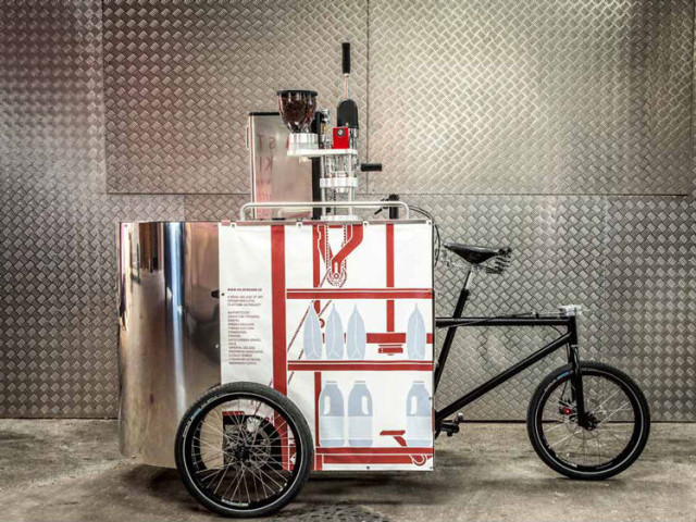 Velopresso Espresso Vending Tricycle
