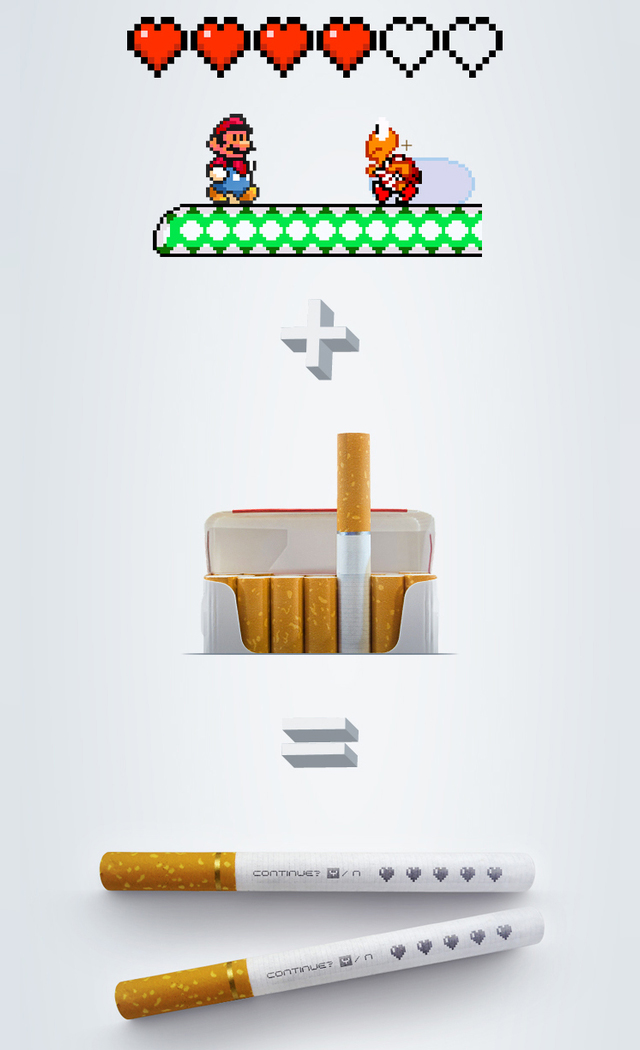 No games for smokers
