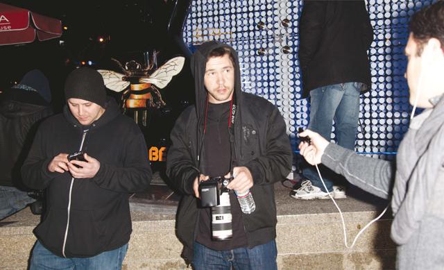 Stalking the Paparazzi