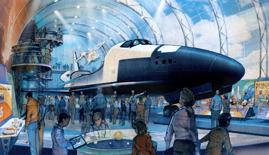 Space Shuttle Enterprise at Intrepid Museum