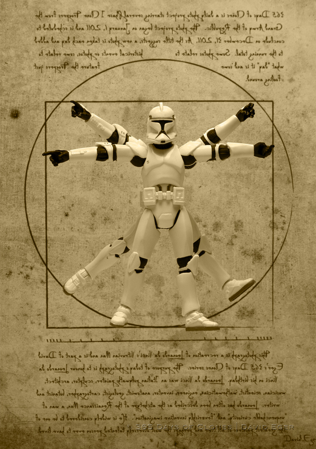 Vitruvian Trooper