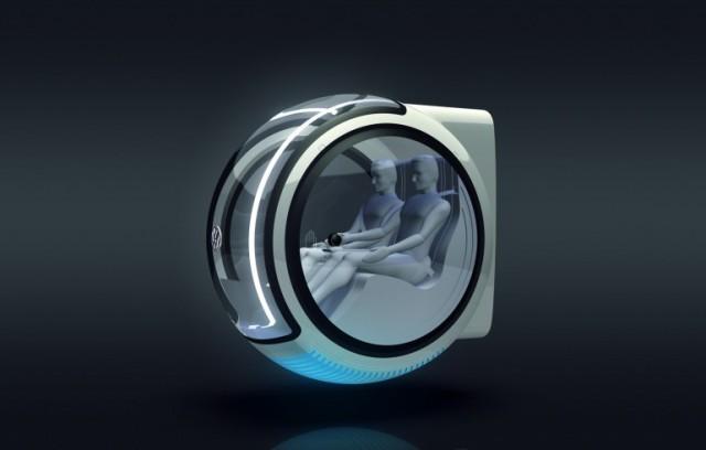 Volkswagen Hover Car Concept