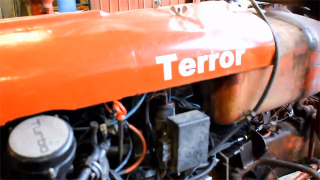 "Volvo 240 Turbo Racing ""Terror"" Tractor"