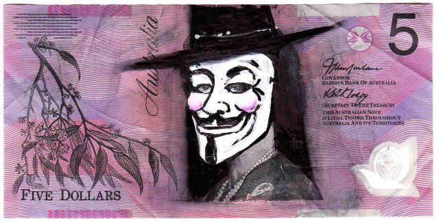V is for Vendetta Note