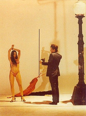 Tom Waits and dancer from the original 35-mm film