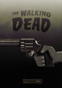 The Walking Dead Season 3 Poster by Radio