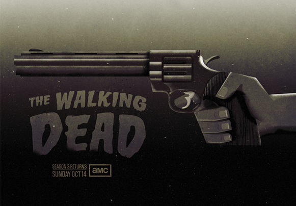 The Walking Dead Season 3 Poster by Radio