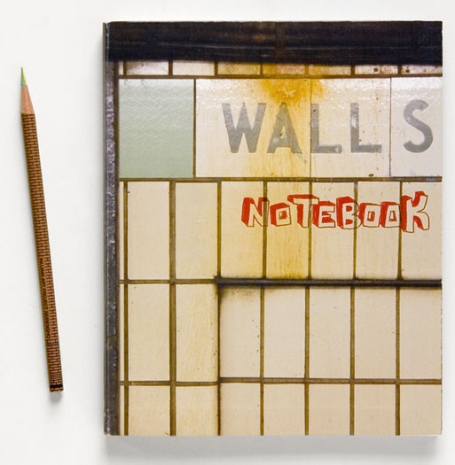 Walls Notebook Contains Photos of NYC Walls Instead of Blank Pages