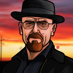 Walter White AKA Heisenberg by Jon Defreest
