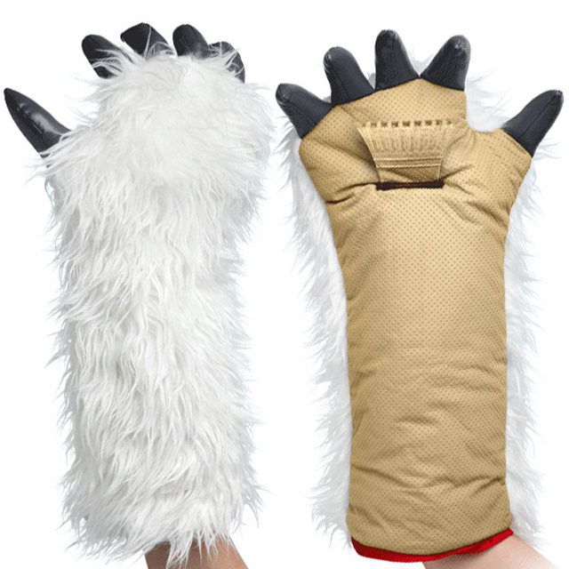 Star Wars Wampa Ice Scraper Mitt at ThinkGeek
