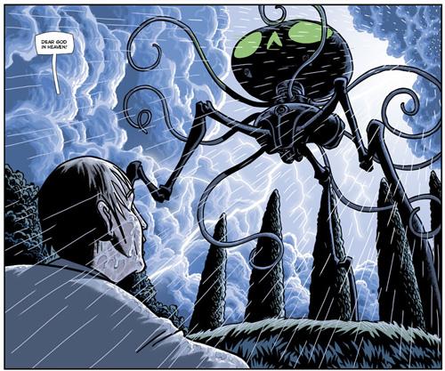 War Of The Worlds eComic by Ian Edginton & D'Israeli