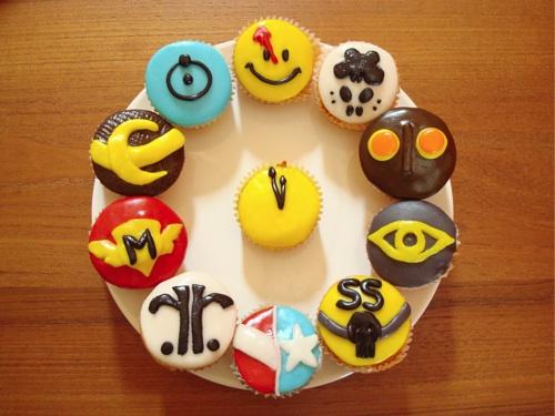 Watchmen Cupcakes