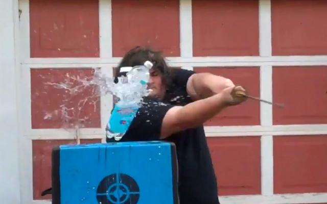 Will Keith, The Ultimate Water Bottle Destroyer
