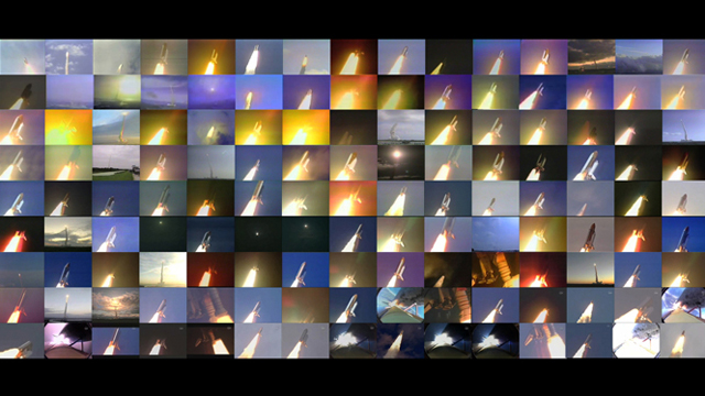 Video Featuring All 135 NASA Space Shuttle Launches At Once