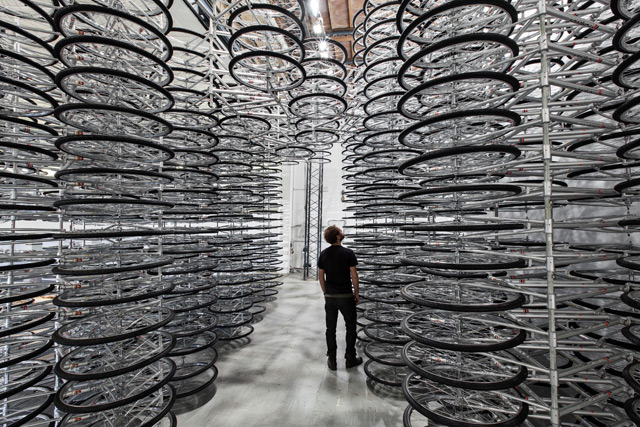 Stacked by Ai Weiwei