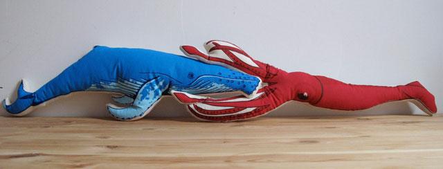 Whale vs. Squid