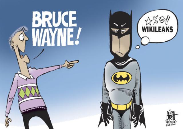 WikiLeaks Batman
