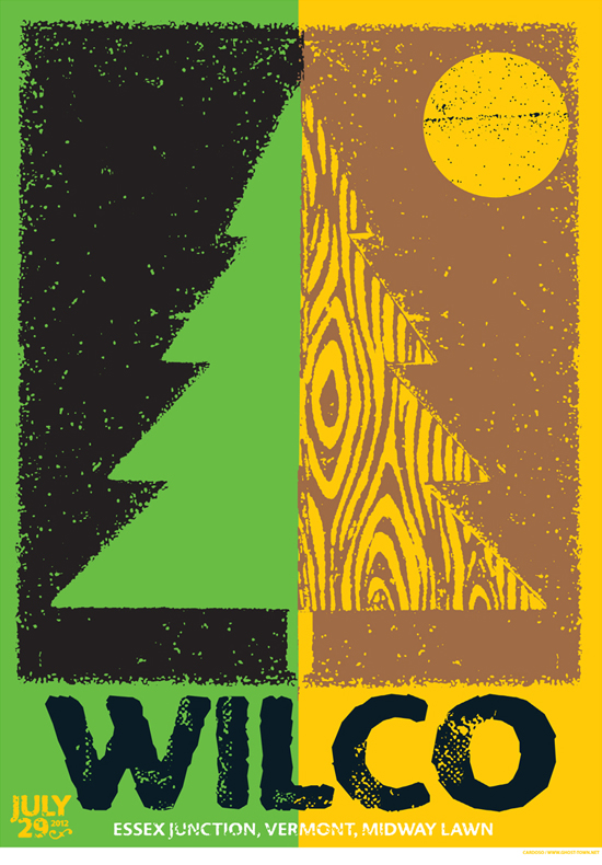 Wilco by Peter Cardoso of Ghost-Town Studio