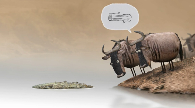 Wildebeest by Bird Box Studio