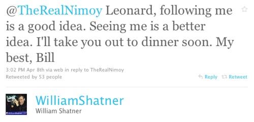 William Shatner Twitter