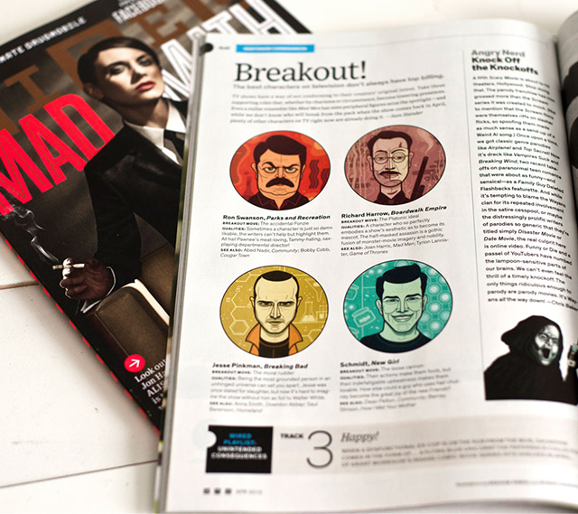 Wired Magazine Illustrations