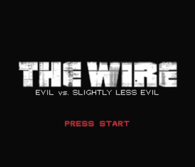 CollegeHumor Original - The Wire RPG