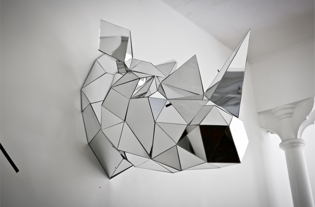 Mirrored Animal Sculptures by Arran Gregory