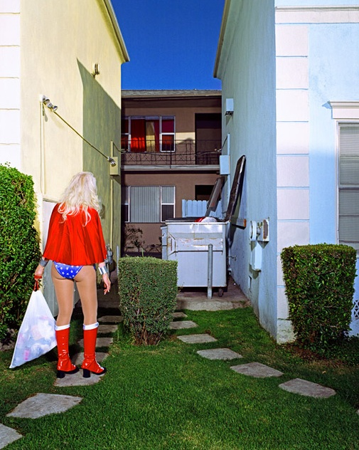 Superheroes at Home by Gregg Segal