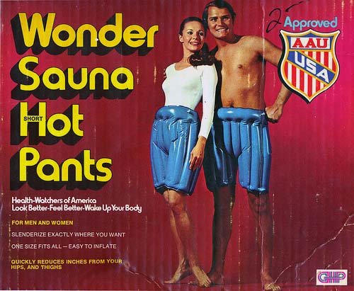 Wonder Sauna Short Hot Pants
