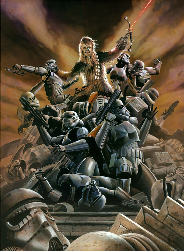 Wookiee Rage by Brian Rood