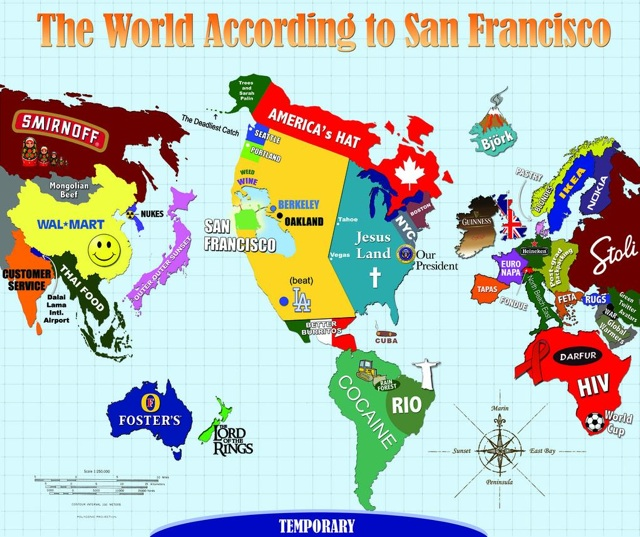 The World According to San Francisco