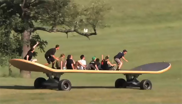 The World's Largest Skateboard