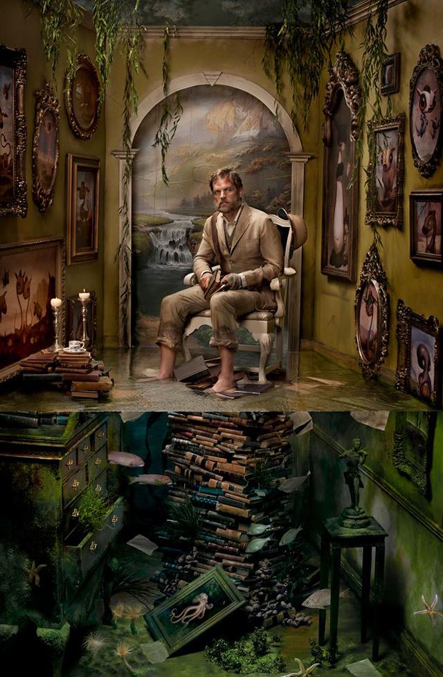Portrait of artist Scott Musgrove, The Last Good Man by Ransom & Mitchell