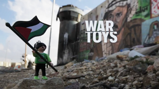 WAR-TOYS, Brian McCarty Documents Children Making Art During War
