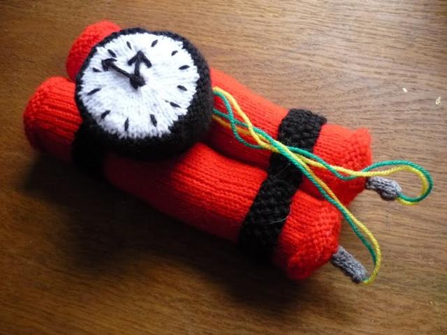 yarn-bomb