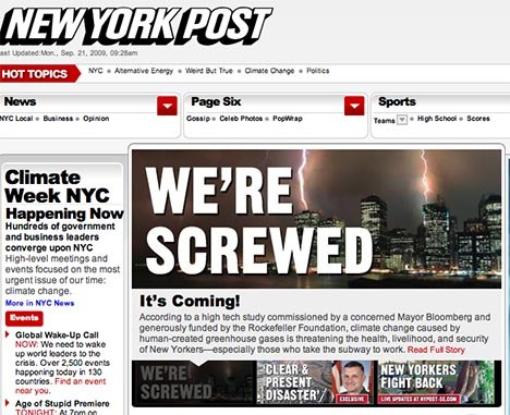 The Yes Men New York Post