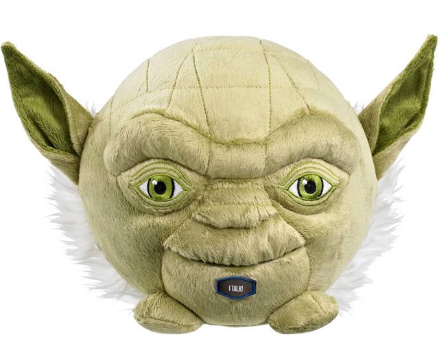 Star Wars Yoda 7-Inch Talking Plush Ball