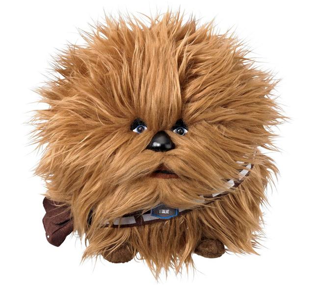 Star Wars Chewbacca 7-Inch Talking Plush Ball