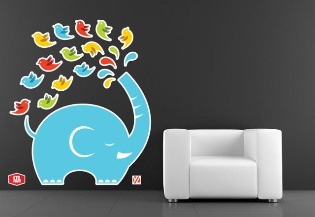 Yiying Lu wall graphics