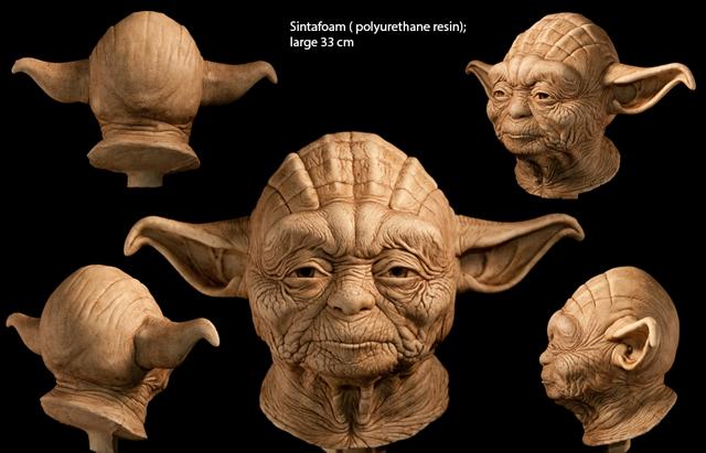 Yoda by Andrea Eusebi