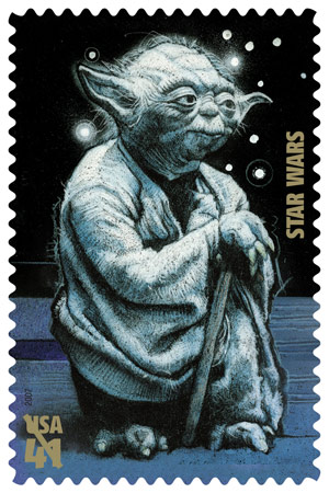 pictures of yoda stamps