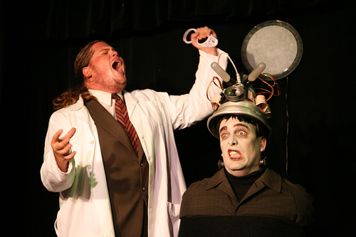 frankenstein play