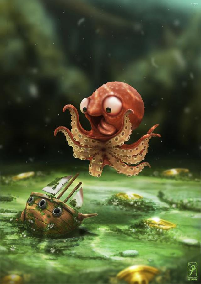 young kraken
