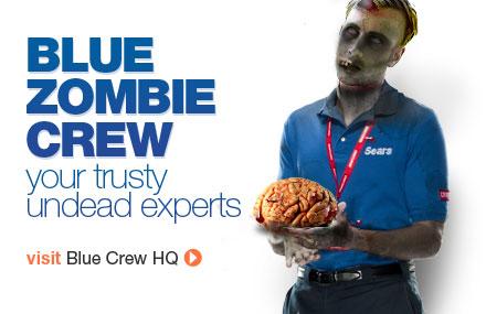 Zombie Blue Crew